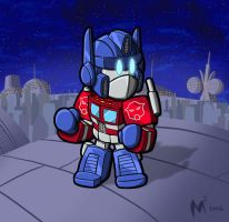 Lil Optimus by MattMoylan