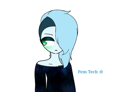 Request: Fem Techno[BlueRoseDemon13] by NotFang21