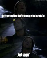 When Sam calls Castiel by CannibalSamacaust