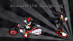 Shadow the Hedgehog Wallpaper by JanetAteHer
