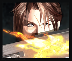 Squall Digipainting by Daffy93