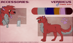 Veridicus Official Reference Sheet (2014) by Krissi2197