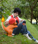 Red and Charmander 3 by GIOVANNIMICARELLI