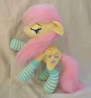Poseable small plush Fluttershy by Epicrainbowcrafts
