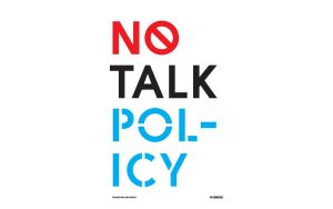 No Talk Policy by knowyourclassics