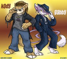 PCA: Kody and Gabby by WeaverNocturne