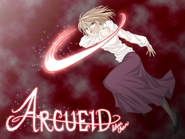Arcueid Wallpaper - Attack by LightSilverstar