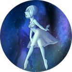 Collab - Blue Pearl by Huispe