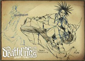 The Deathlings: Ani 2 by MichelaDaSacco
