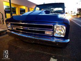 Chevy Truck on Main by Swanee3