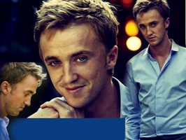 Tom Felton Blend by VictoriaLovell93