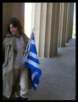 APH cosplay: Greece by SporkRuler