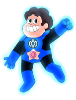 Blue Lantern Steven by BurningOleander