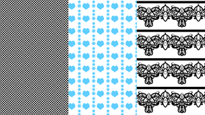 Manga Patterns Preview by DraconianRain
