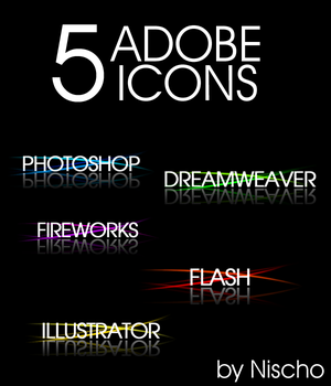Adobe Icons by Nischo