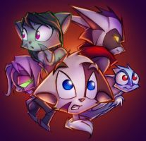 Furzine Cover vignette by Dreamkeepers