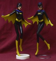 anime style Batgirl custom by TeenTitans4Evr