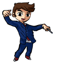 Wind Waker Tenth Doctor by IronManWristwatch