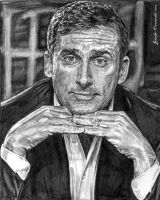 Steve Carell by VisionSisters