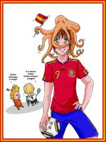 Spain world cup by kira86