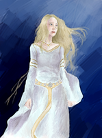 Eowyn on the Edge by Elyonlover
