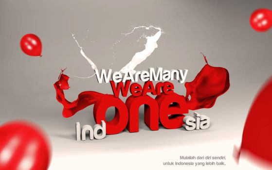 We Are Many,We Are Ind-ONE-sia by y0rri