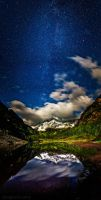 the maroon bells three by tmophoto