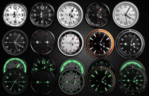 Analog Ultra HD DayNight Clock Collection-xwidget by jimking