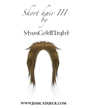 short II hair PNG by StarsColdNight