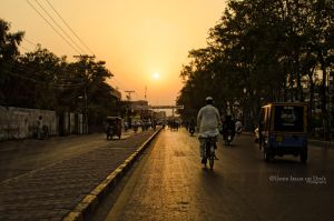 Day 283: Sunset at PECO Road by umerr2000