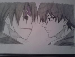 Hei vs. Li (Darker Than Black) by FinntheHuman31