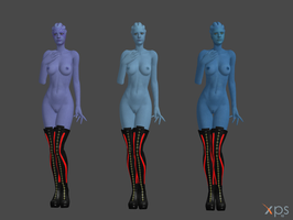Asari Strippers 2! (THEY HAVE OMNITOOLS!) by anorexianevrosa