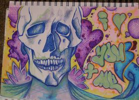 loveskull by watersong7