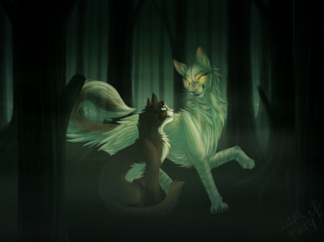 Dark Forest Commission by Luna-Firefly