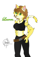 Lauren my first furry by soravalor