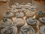 Bridal Shower Cupcakes by Merwenna