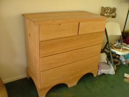 Oak chest of drawers 1 by Marcusstratus