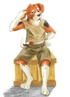 Ye Olde Foxhound by SilverFlight