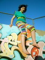 Parrot pants by ludicrouslouisa