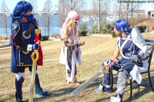 Katsucon 2015 - Fiery Family(PS) 08 by VideoGameStupid