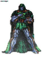 Doctor Doom Bead Sprite by DrOctoroc