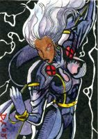Storm Sketch Card by DKuang