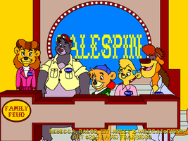 TaleSpin on Family Feud by tpirman1982