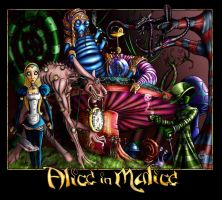 ALICE IN MALICE color by jellyfishman