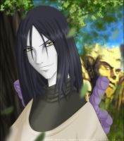 Orochimaru by animescape