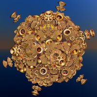 chaotic golden ball by Andrea1981G