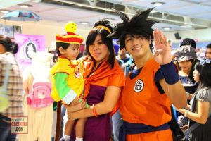 Goku gohan and chichi cosplay by maiabest9381