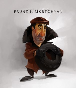 Frunzik Mkrtchyan by creaturedesign