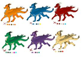 .: CLOSED 10+ Points Dragon adopts:. by Kryptangel