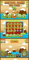 Candy Saga Game GUI by pzUH